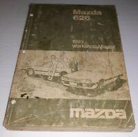1983 Mazda 626 Workshop Manual Free Shipping MAZDA 1983