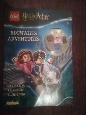 NEW LEGO HARRY POTTER HOGWARTS ADVENTURE BOOK WITH MINIFIGURE