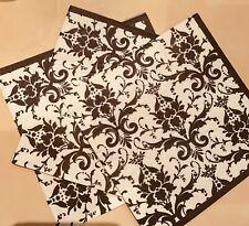 Napkins Fleur De Lis Paper Serviettes 3 Ply Classic Lunch Party Decoupage Aus