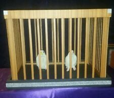 Tora - Appearing Dive Cage from Tray with Two Doves (No longer avail. from Tora)