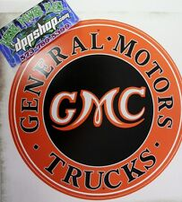 Removable peel stick Wall art Chevy GMC Truck sticker decal genuine parts garage