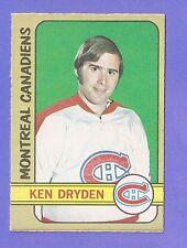 Ken Dryden 1972-73 O Pee Chee # 145 - Montreal Canadiens - VG-EX HOF  *X0802*