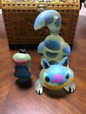 Amanda Visell x Michelle Valigura Cheshire Cat & Alice GID Resin Figure