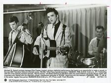 MICHAEL ST GERARD GUITAR PORTRAIT ELVIS PRESLEYTV MOVIE ORIG 1990 ABC TV PHOTO