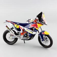 1/12 2014 Dakar KTM SXF 450 Rally REDBULL No.2 Marc Coma Motorcycle models toys