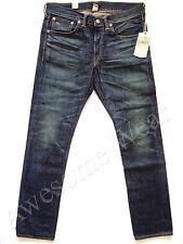 New Ralph Lauren RRL Slim Fit Still Water Wash Distressed Jeans sz 29 x 32