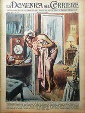 La Domenica del Corriere 9 Settembre 1956 Telefono Valentino Hollywood Marte Spa
