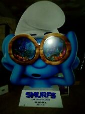 smurfs The Lost Village 3D standee