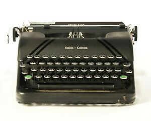 Smith Corona Sterling antique Typewriter