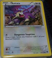 Rattata # 87/122 XY Breakpoint Set Pokemon Trading Cards Break Point MINT
