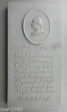 original  Relief Plakette  Friedrich der Große  KPM um 1900 1712-86 alter Fritz