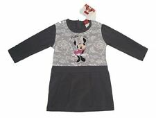 Robes gris coton mélangé pour fille de 2 à 16 ans