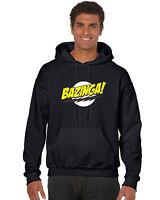 BAZINGA BIG BANG THEORY PRINTED HOODIE Sheldon hooded Hoodie Top Film Televison