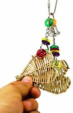 1260 BONKA BIRD TOY HEART TINGLE parrot cage craft toys cages cockatiel budgie