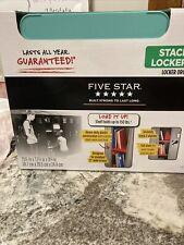 Five Star Stackable Locker Shelf 12in Wide x 15in Tall Heavy Duty (Teal) New