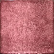 SONDERPREIS: Spanische Fliesen, einfarbig Antikstil 15x15 cm, Weinrot