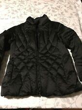 St Johns Bay Womens Sz L Black Down Puffer Jacket Coat Parka