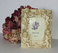 CHERUB ANGEL PHOTO PICTURE FRAME SHABBY CHIC COTTAGE FRENCH