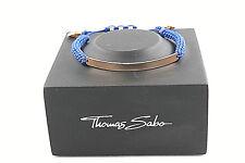 Thomas Sabo LBA0068-898-1-L21v Love Bridge Armband 15-21cm Silber verg. Roségold
