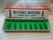 Britains Soldiers 2021 U.S. Military Police (Snowdrops!)