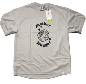Nike Dri-fit ACG Mother Hugger Beige Mens Short Sleeve T-Shirt CV1434 072 Small