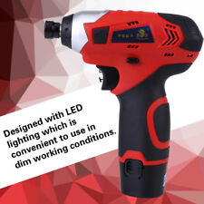 12V Multi-Functional Led Impact Screw Driver Double Speed Li-Ion Cordless Drill