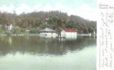 Vintage Postcard-Old Ferry, Saugutuck, MI