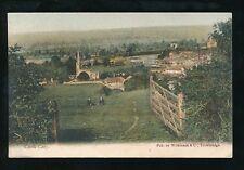 Somerset CASTLE CARY General view pre1919 PPC pub Wilkinson Trowbridge