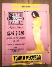SIOUXSIE & Banshees Superstition (Tower) UK magazine ADVERT / Poster 12x10 inch