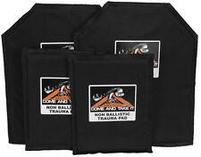 10 x 12 and 6 x 8 Non-Ballistic Trauma Pads for AR500 Body Armor Body Armor SET
