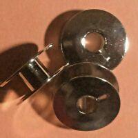 24 Metal Bobbins for Juki Sewing Machine DDL LK LZ TL TR Series Models***