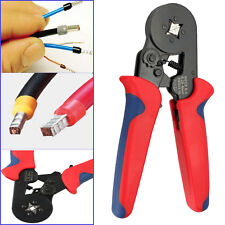 Bootlace Ferrule Crimper Terminal Crimping Tool 0.25-6mm² Wire Cord End WG 360g