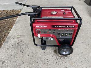 honda generator em6500sx21
