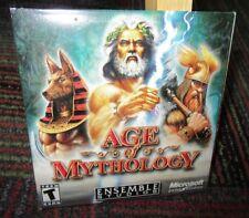 AGE OF MYTHOLOGY 2-DISC PC CD-ROM GAME, ENSEMBLE STUDIOS, WITH PRODUCT KEY, GUC