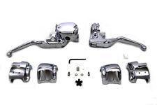 Handlebar Control Kit Chrome For Harley-Davidson