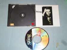 Sting - Nothing Like the Sun (Cd, Compact Disc) complete Tested