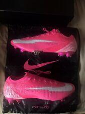 Nike Vapor 13 Elite FG Soccer Cleats Aq4176 801 Orange Black Men's Size 9.5
