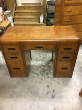vintage waterfall desk in good condition