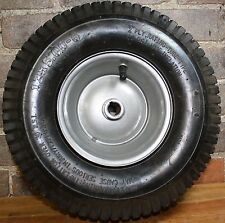 "2x 13x5.00-6 Turf Tread Tube Type Tire & 3/4"" Keyed 3"" Hub Length Gray Drive Rim"