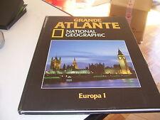 LIBRO GRANDE ATLANTE NATIONAL GEOGRAPHIC EUROPA 1