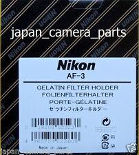 Nikon AF-3 (3 inch) Gelatin Filter Holder genuine Nikon