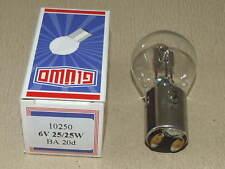 Glüwo biluxlampe/LAMPADINA 6v 25/25w ba20d DKW, Simson, BK, AWO, EMW, BMW, NSU, Ifa, RT