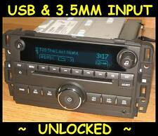 UNLOCKED 2010-2013 Chevy SILVERADO GMC SIERRA CD Radio Ipod USB input & 3.5 MP3