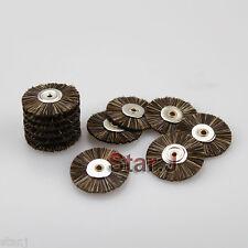 36 Dental Lab Jewelers Polishing Cleaning Wheels Brushes for Dremel Rotary Tool