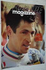 EQUIPE MAGAZINE N°179 1984 CYCLISME MOSER FOOTBALL CORSE RUGBY LOURDES DARMON