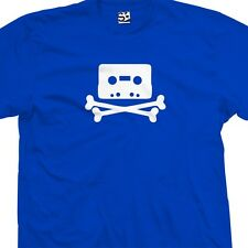 Pirate Bay Tape T-Shirt - Torrent Audio Hacker MP3 Cassette - All Sizes & Colors