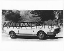 1967 - 1968 Ford Shelby Mustang GT500 convertible, Factory Photo (Ref. # 74801)