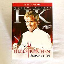 Hell's Kitchen Seasons 1-10 Box Set, 29 Discs Seasons 1 2 3 4 5 6 7 8 9 10