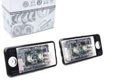 Original Audi DEL plaque d'immatriculation éclairage a3 8p a4 b6 8e b7 a6 c6 4 F a5 q7 4 L NEUF