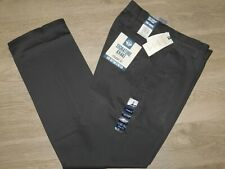 Dockers Signature Khaki Pants Straight Fit Lux Stretch Flex Waist Steelhead Gray